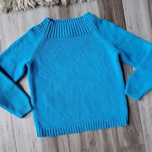 VTG Lauren Ralph Lauren Ribbed Mock Neck Sweater